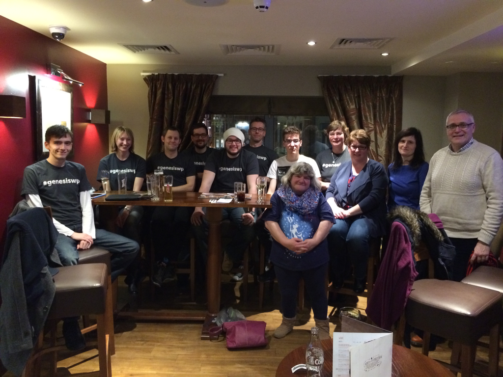 My first WordCamp with the Genesis UK crew