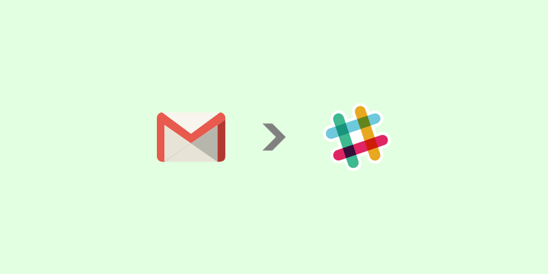 Get notified in Slack of an email from a specific Gmail user