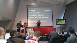 moove agency presenting at WordCamp London 2016